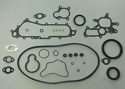 BOTTOM END SUMP GASKET SET FITS MR2 REV2 CELICA ST185 TURBO 3SGTE PAN BLOCK