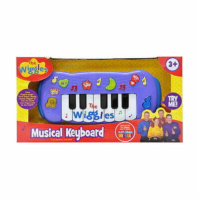 The Wiggles - Wiggly Musical Keyboard NEW  Play Wiggles Song Music