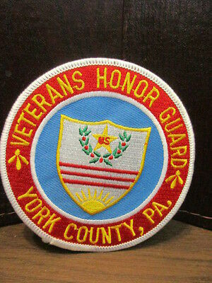 Iron-on Patch - VETERANS HONOR GUARD - YORK COUNTY, PA
