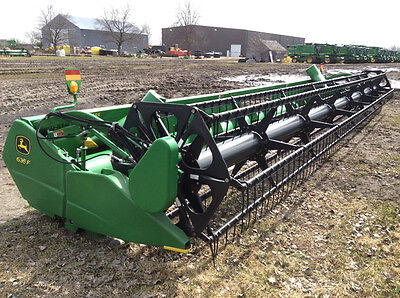 2013 John Deere 635F Headers
