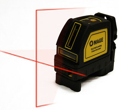 Mage Self Leveling Horizontal Vertical Cross Line Laser Level Same DeWalt Range