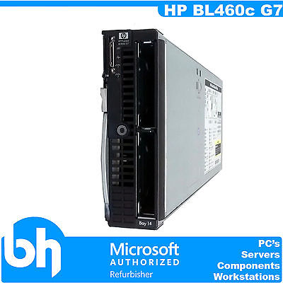 HP Proliant BL460c G7 Servidor Blade Dual Intel Xeon Quad Core E5506 2,13 GHz