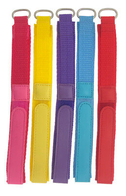 Childrens Ladies Sports 14mm Colour Nylon Fabric Band Watch Straps