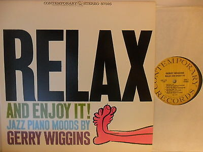 Gerry Wiggins - Relax and Enjoy - LP 1962 US - Contemporary OJC-173