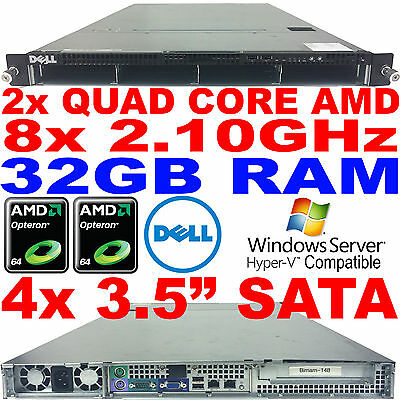 Cheap Cloud Dell PowerEdge Rack Server CS24-NV7 Twin Quad Core  2.1GHz 32GB RAM