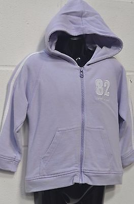 Girls Purple Hoodie Jumper From Next UK Age 3 Years * Will Combine Postage *