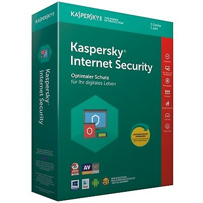 Kaspersky Internet Security 3 PC / Geräte 1 Jahr 2020 Multi-Device DE-Lizenz