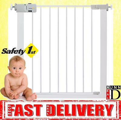 Safety 1st Secure Tech Child Baby Pet Safety Pressure Fit Stair Gate 73cm-80cm