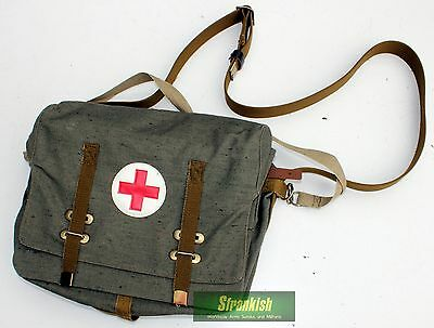 Russian Russia Soviet Army Medical Officer Field Shoulder Bag
