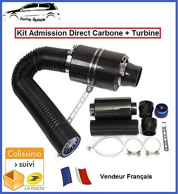 Kit Admission Direct Dynamique Carbone Boite Filtre A Air Tuning Fiat Punto Evo