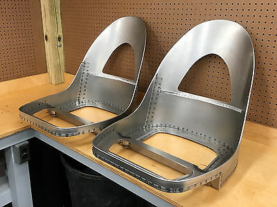 Jaguar E-Type, XKE 3.8 OTS Roadster Seat Frames - NEW & ABSOLUTELY PERFECT!!!