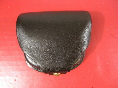 Civil War US Army Percussion Revolver Leather Cap Pouch - LC Swan & Co Newark #2