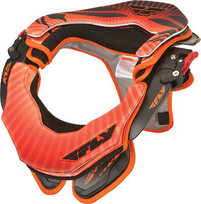Fly Racing By Leatt Valor Orange Motocross Offroad Racing Protective Neck Brace