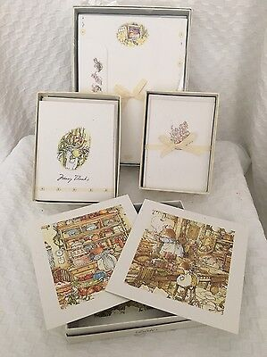 BRAMBLY HEDGE Note Card / Thank You / Blank Cards Lot