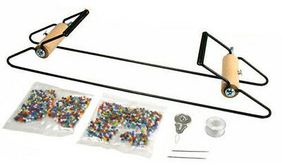 New Complete Metal Bead Loom Kit With Instructions Beading Sead Bead