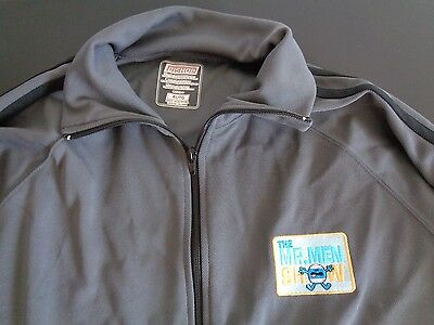 THE MR. MEN SHOW Animated TV Promo Cast Crew Track Jacket Size XL Free Shipping