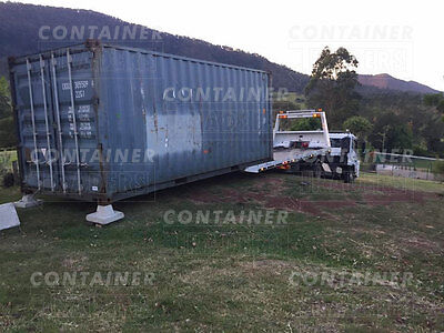 20' Cargo Worthy Shipping Container Newcastle