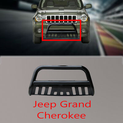 3'' Black 11-15 JEEP GRAND CHEROKEE Nudge Bar Grille Guard +Removable Skid Plate