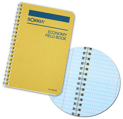 Sokkia 8152-05 Economy Student Field Book For Survey Construction