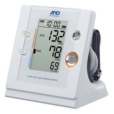 A & D UA-853 Blood Pressure Monitor with TimeWise Technology