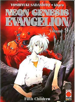 Neon Genesis Evangelion New Collection N. 9 Ed. Planet Manga