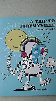 A trip to Jeremyville coloring book new Free Ship
