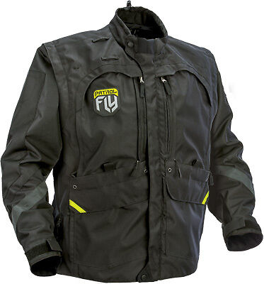 Fly 2017 Patrol Convertible To Vest ATV Enduro Offroad Motorcycle Riding Jacket