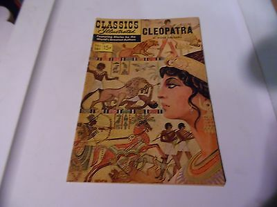 Classics Illustrated #161 HRN 161 Cleopatra by H. Rider Haggard