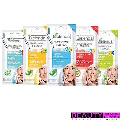 BIELENDA Professional Formula 2x5g, 3x3g Facial Peeling Mask CHOOSE  BN003