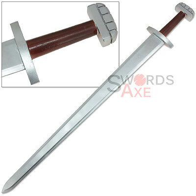 "Wood Ulfberht Viking Longsword of Magni Norse God of Strength 42"" Sword Replica"