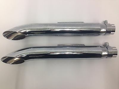 mufflers exhaust pipes motorcycle turnouts universal custom style chopper