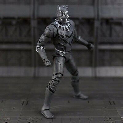 Captain America Civil War Black Panther Action Figure Loose collection Toy Doll