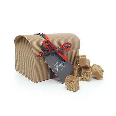 Luxury Chilli Butter Fudge Gift Box 300g Hot Spicy Traditional Fudge Chest