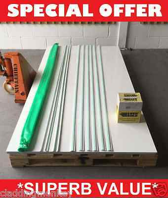 """Hygienic wall cladding 30sq mtr """"DIY"""" Package Special Offer deal PREMIUM GRADE"""