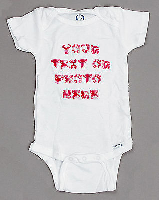 CUSTOM PERSONALIZED Baby Onesie. newborn infant toddler