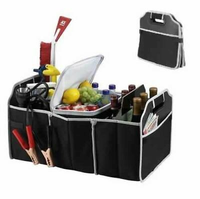 Heavy Duty Car Boot Organiser Collapsible Shopping Folding Storage Tidy No Mess
