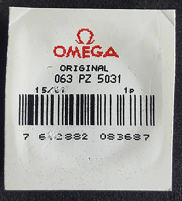 Omega Plexiglass Crystal PZ5031 with Silver Colour Tension Ring