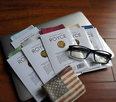 6 lot Microfiber Phone Screen Camera Lens Glasses Square Cleaner Cleaning Cloth