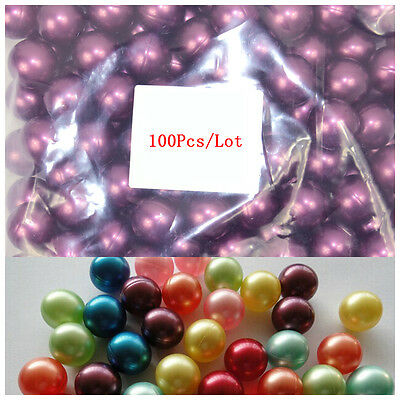 100Pcs/Lot Circular 3.9g Bath Oil Beads Floral Fragrance Bath Pearls Purple