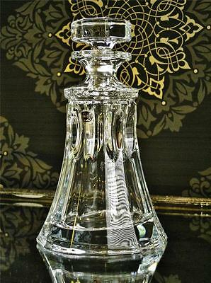 """""""Tennessee"""" Contemporary Bohemia 24% Crystal ships decanter. NEW"""