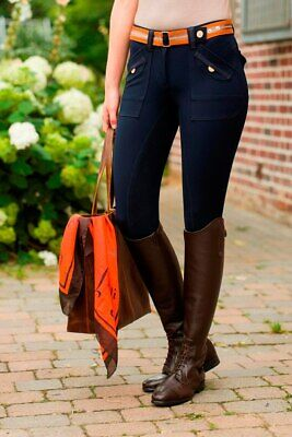 Breeches Cargo full seat- Golden Gate (7502) - by HKM - RRP $249.95