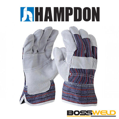 BossSafe Candy Stripe Work Glove (Pkt 12) - TIG - MIG - ARC - 700013