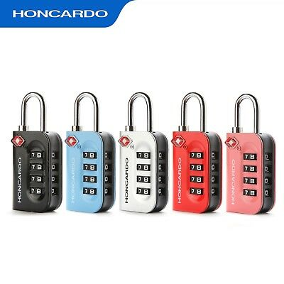 4-Digit Combination Suitcase TSA Lock ZincAlloy Travel Luggage Security Padlock