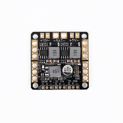 F3 Power Distribution Board PDB w/ BEC LC-Filter for Quad CC3D Naze32