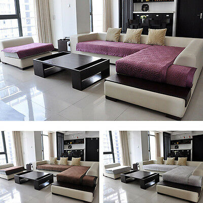 Newly Sofa Plush Pad Slipcover Couch Cover Comfortable Mat For Sectional Sofa