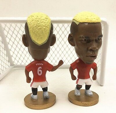 Statuina doll PAUL POGBA #6 MANCHESTER UNITED 1617 football action figure futbol