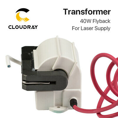 High Voltage Flyback Transformer for PSU 40W CO2 Laser Power Supply Model A & B