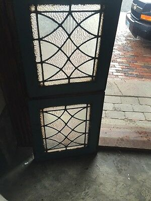 Sg 852 2 Available Price Separate Antique Textured Glass Window
