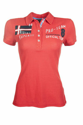 POLO SHIRT -International Red- by HKM - (7470) RRP $69.95