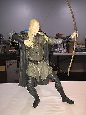 "NECA Lord of the Rings Legolas 20"" Epic Figure Loose"
